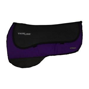 ThinLine Western Ranch Saddle Pad Purple Round Skirt