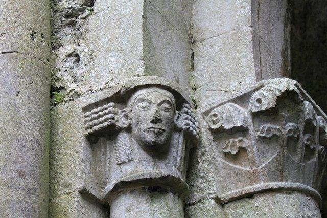 Architechtural Details - Corcomroe Abbey - the Burren