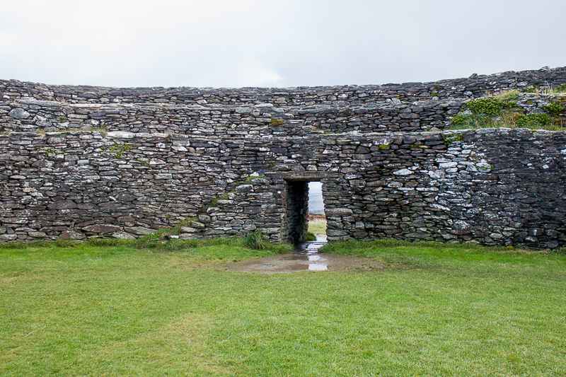 Grianán of Aileach door