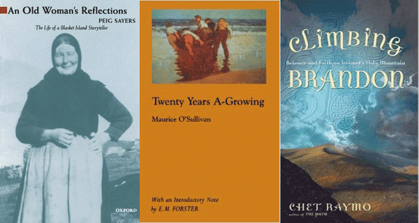 Books about the Dingle region and Aran Islands