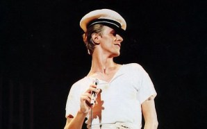 David Bowie on the Isolar II world tour in 1978
