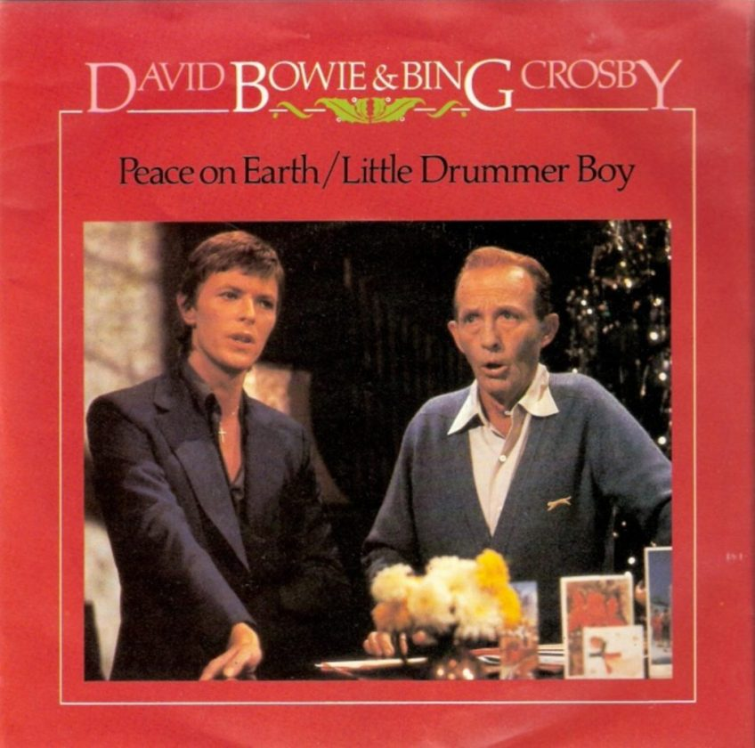 David Bowie and Bing Crosby - Peace On Earth / Little Drummer Boy - 1977 - Single Cover