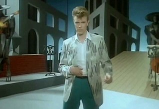 David Bowie - 'Loving The Alien' video directed by David Mallet