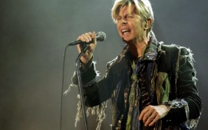 David Bowie performs All The Young Dudes at the Isle of Wight Festival in 2004