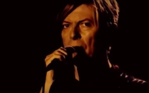 David Bowie performs Loving The Alien during the Reality tour in Dublin 2003