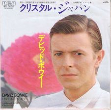 "David Bowie Crystal Japan 7"" Vinyl Record"