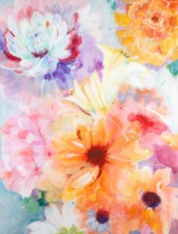 """Floral Array"" by Jill Martin"