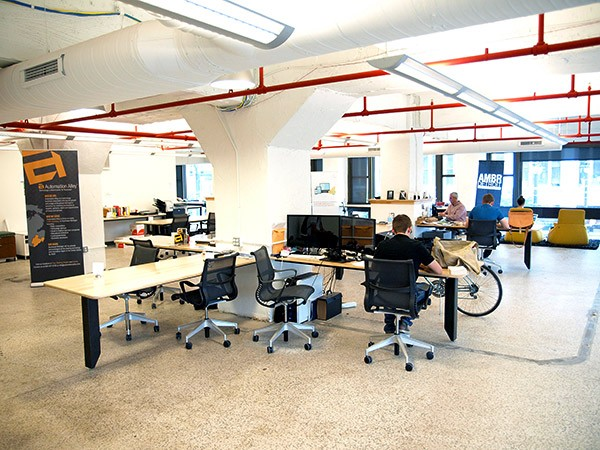 Coworking space at Grand Circus
