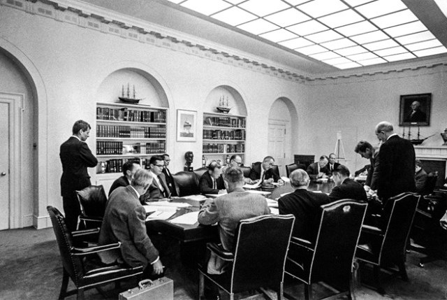 Robert-Kennedy-at-an-Executive-Committee-meeting-during-the-Cuban-Missile-Crisis