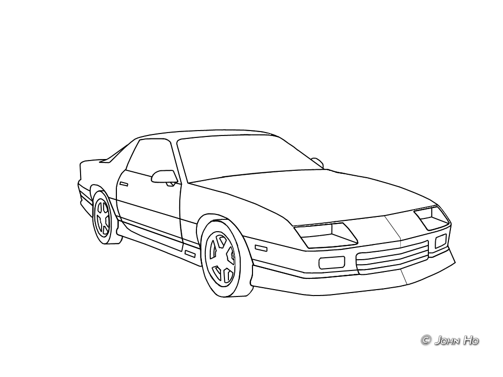 I Need Camaro Drawings Pictures For Paint Scheme