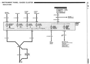 wiring diagram for the digital dash88 gta  Third