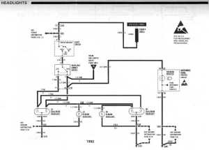need 9192 headlight wiring diagram  Third Generation F