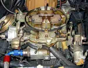 Quadrajet Fuel Inlet Size  Third Generation FBody