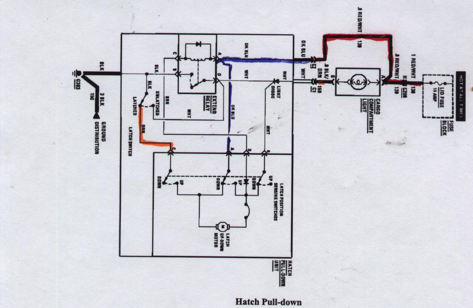 How To Diagnose You Hatch Pull Down Issue