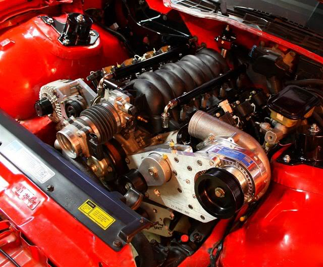 Ls1 T56 Swap With A Procharger