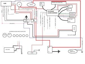 LTX swap wiring diagram  stand alone harness  Third