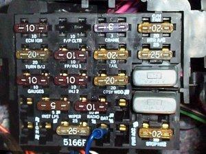 1988 Camaro Iroc Z Fuse Box Panel Needed  Third