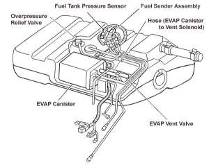 TPI EGR Vacuum lines w LS Style Gas TankCharcoal Canister  Third Generation FBody Message Boards