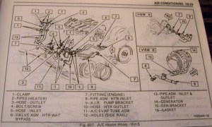 '87 Camaro 28L Heater Hose Routing  Third Generation FBody Message Boards