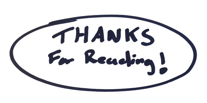 Resultado de imagen de thanks for reading