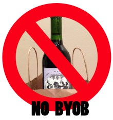 NO BYOB