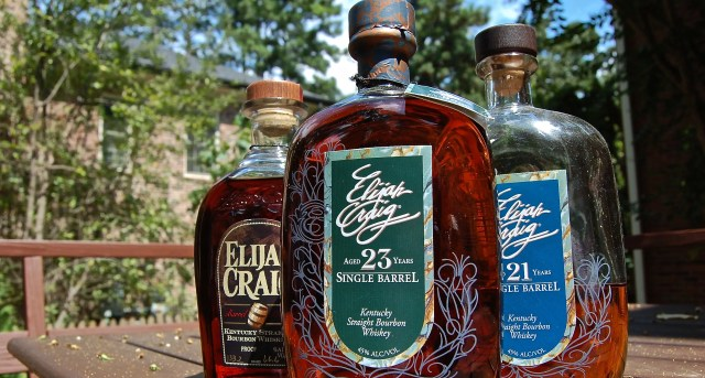 Elijah Craig 23 Bourbon whiskey