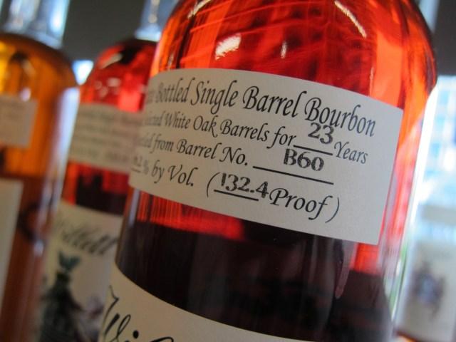 Willet Single Barrel Bourbon