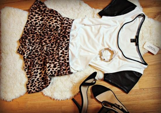 leopard shorts