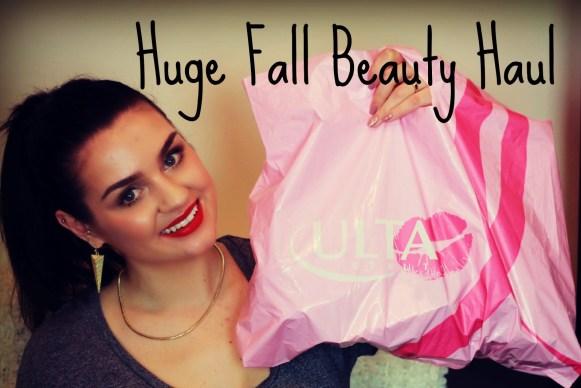 huge beauty haul