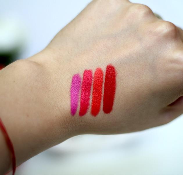 Revlon ColorBurst Matte Lip Balm swatches