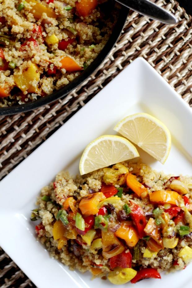 roasted veggies and quinoa recipe