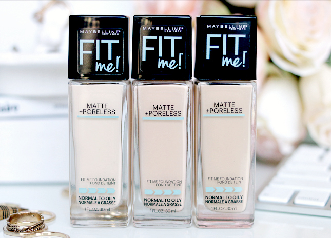 Maybelline Fit Me Matte and Poreless foundation review