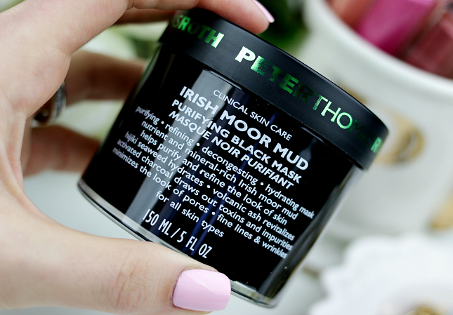 Peter Thomas irish moor mud purifying black mask review