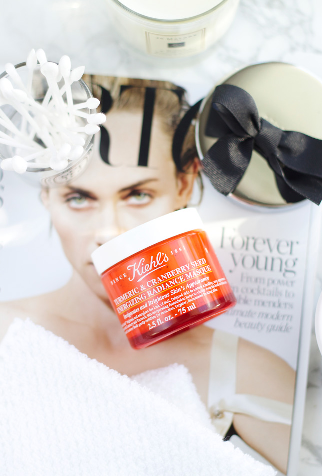 Kiehl's-Turmeric-&-Cranberry-Seed-Energizing-Radiance-Masque-Review