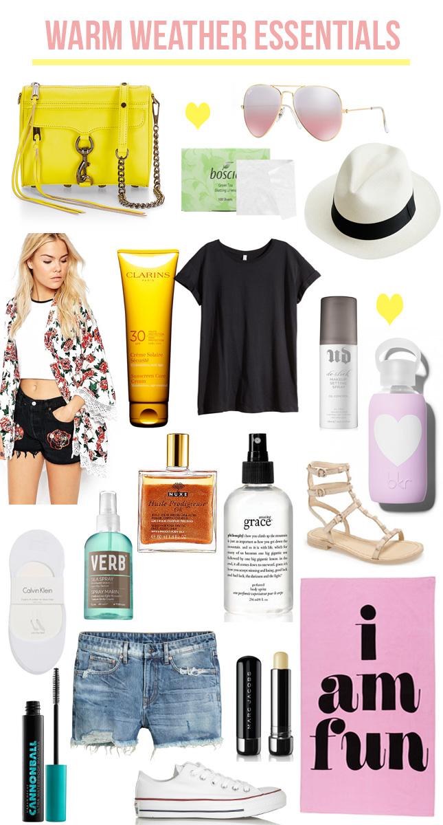 warm-weather-essentials-2016