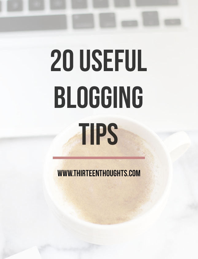 useful blogging tips