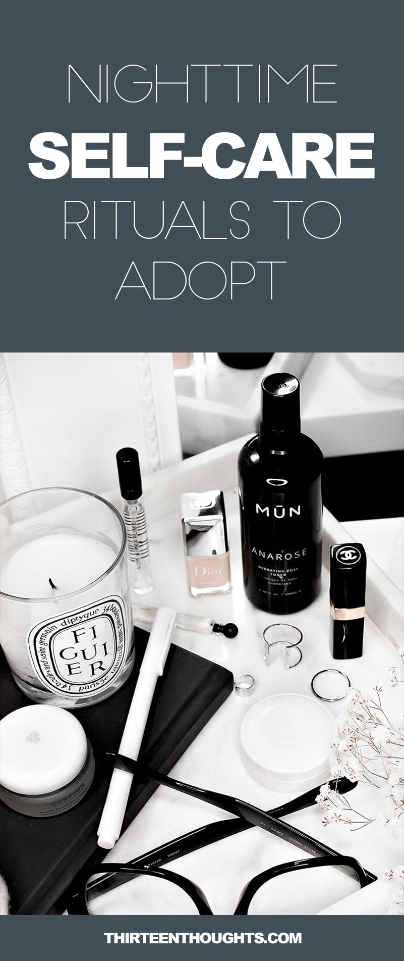 Nighttime Self-Care Rituals to Adopt