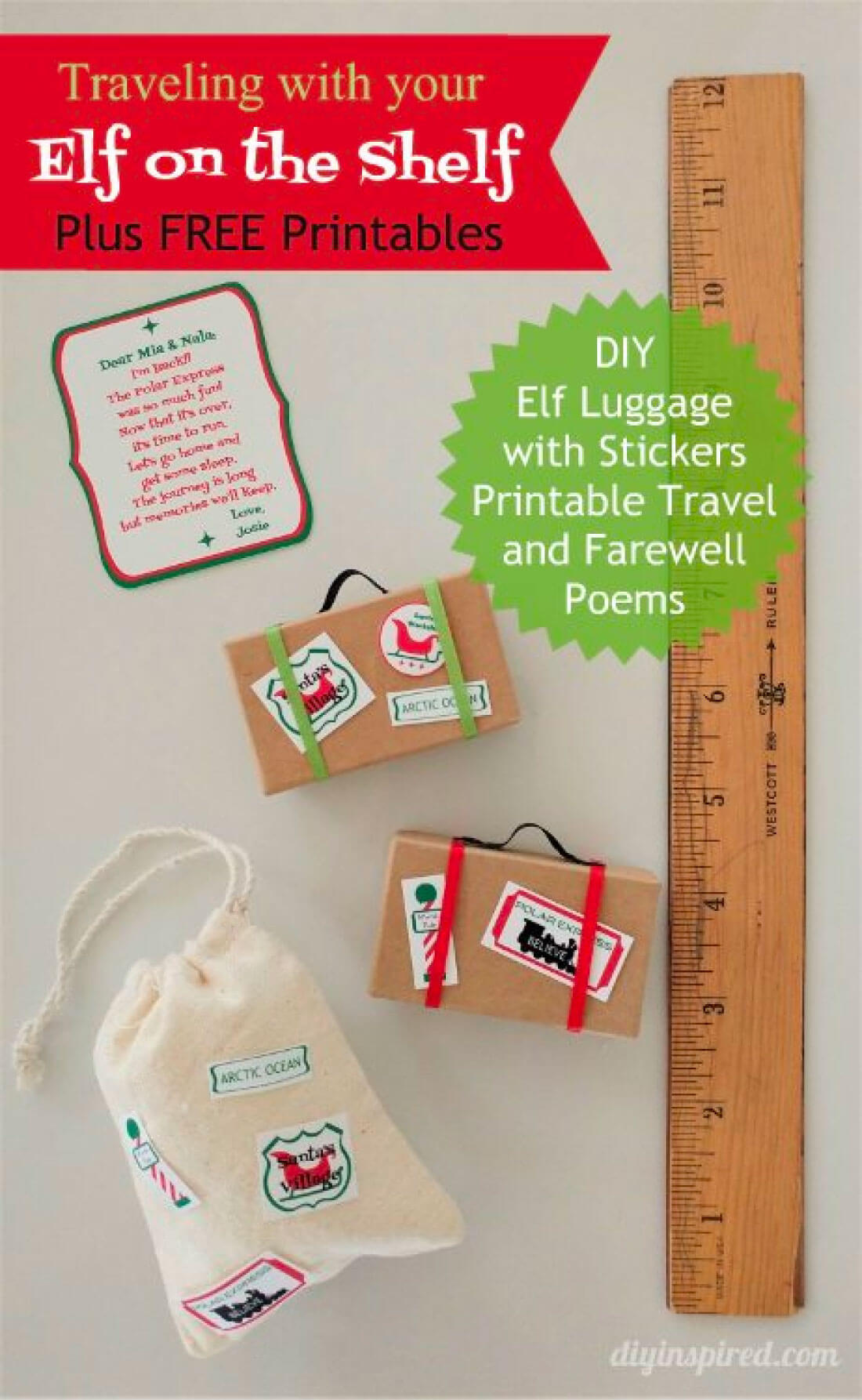 Printable Elf On The Shelf Ideas