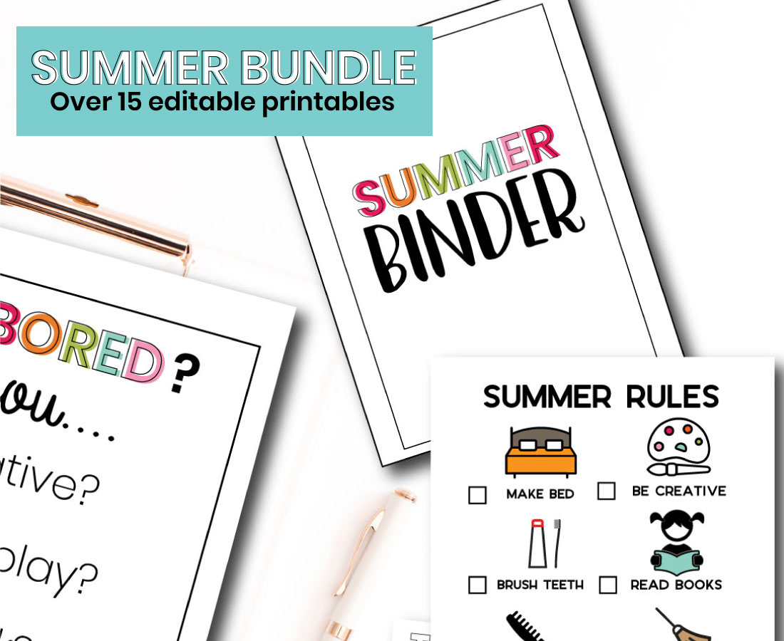 Summer Printable Bundle