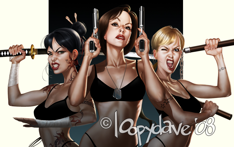 Amazing Illustrations And Pin Up Art Of Loopydave