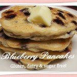Blueberry pancakes - gluten, dairy and sugar-free! www.thisautoimmunelife.com