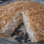 Coconut Cream Pie - Gluten, Sugar & Dairy Free