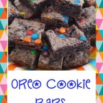 Oreo Cookie Bars