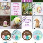 Free Easter Planner Stickers