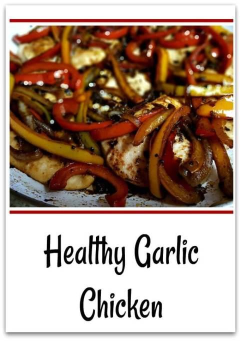 Healthy Garlic Chicken