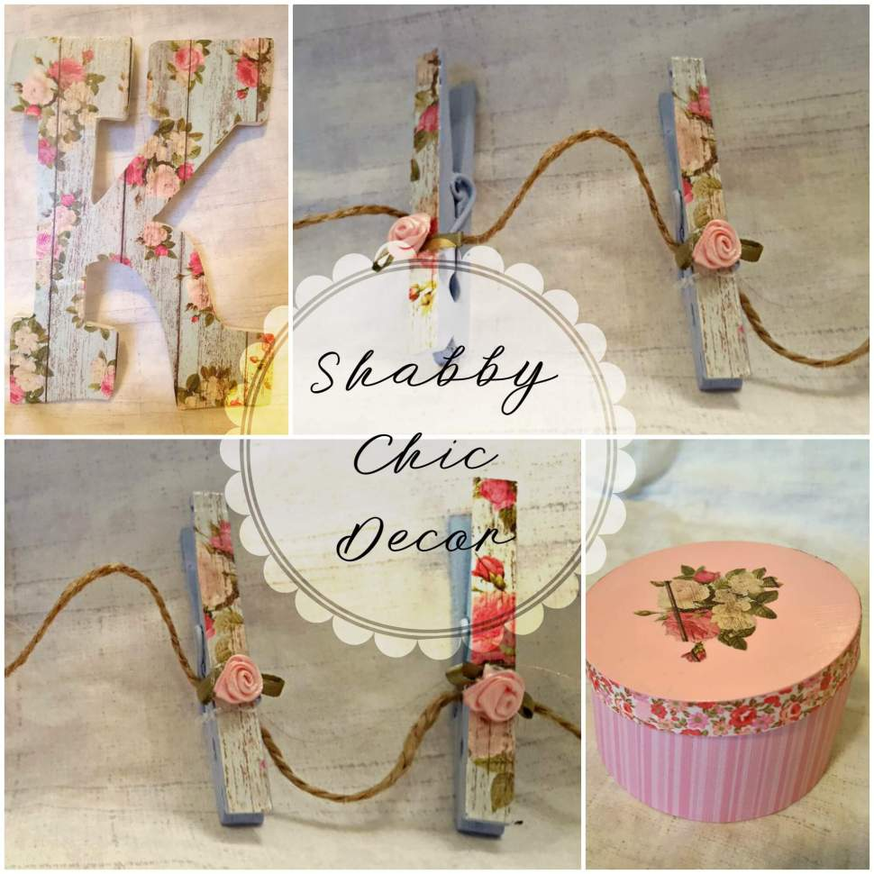 DIY - Create your own Shabby Chic Decor by www.thisautoimmunelife.com