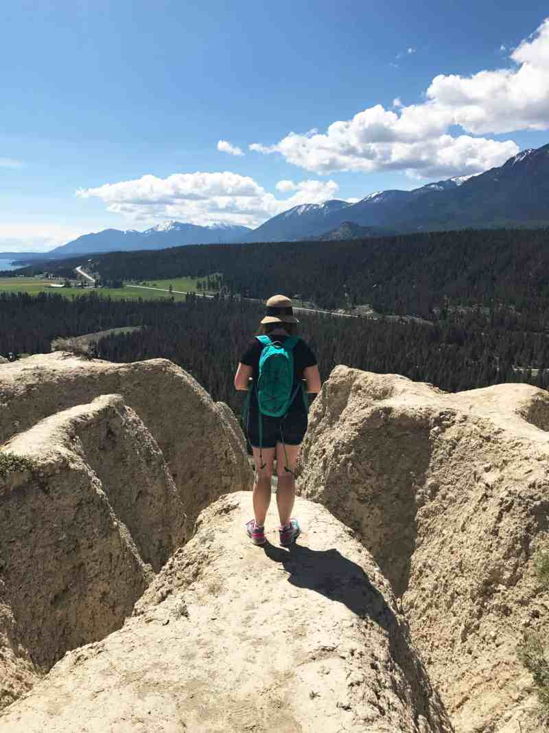 The Hoodoo Trail at Fairmont Hot Springs in BC