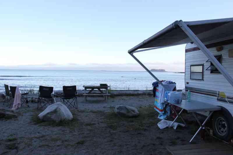 Mussel Beach Near Ucluelet