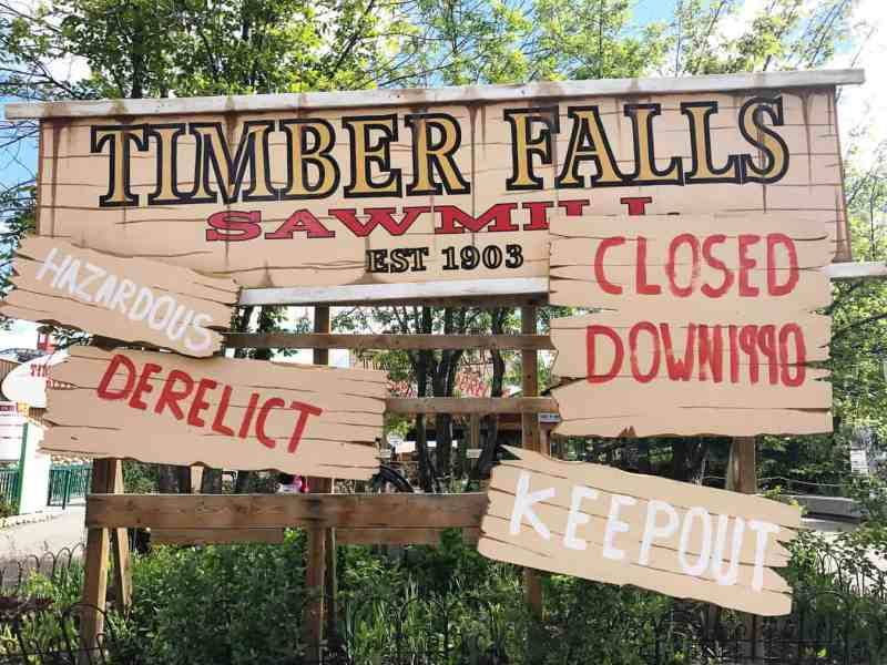 Timber Falls Ride, Calaway Park