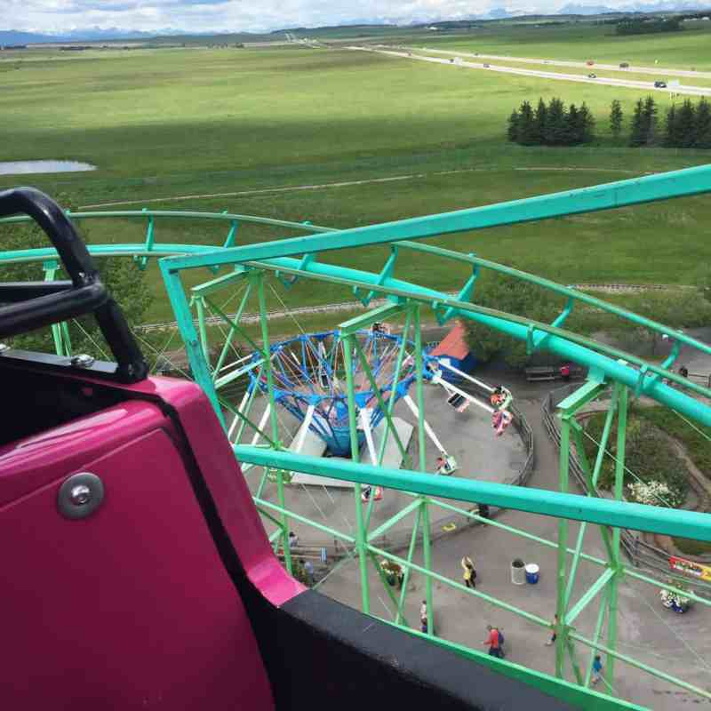 The Vortex Roller Coaster, Calaway Park